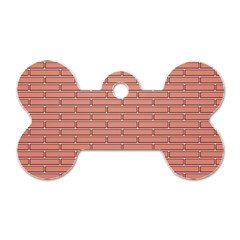 Brick Lake Dusia Wall Dog Tag Bone (two Sides)