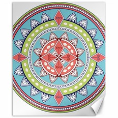 Drawing Mandala Art Canvas 16  X 20