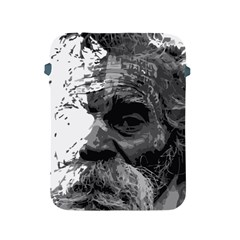 Grandfather Old Man Brush Design Apple Ipad 2/3/4 Protective Soft Cases by Amaryn4rt