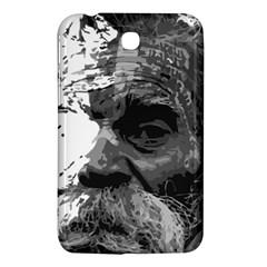 Grandfather Old Man Brush Design Samsung Galaxy Tab 3 (7 ) P3200 Hardshell Case  by Amaryn4rt
