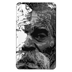 Grandfather Old Man Brush Design Samsung Galaxy Tab Pro 8 4 Hardshell Case by Amaryn4rt