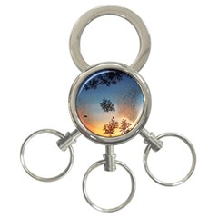 Hardest Frost Winter Cold Frozen 3 Ring Key Chains by Amaryn4rt