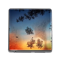 Hardest Frost Winter Cold Frozen Memory Card Reader (square)