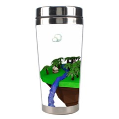 Low Poly 3d Render Polygon Stainless Steel Travel Tumblers by Amaryn4rt