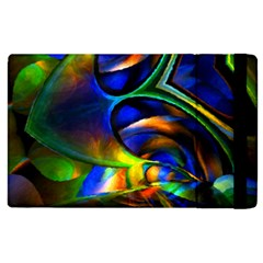 Light Texture Abstract Background Apple Ipad 2 Flip Case by Amaryn4rt