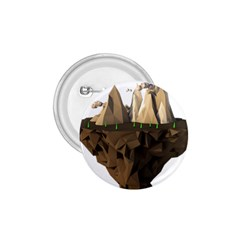 Low Poly Floating Island 3d Render 1 75  Buttons by Amaryn4rt