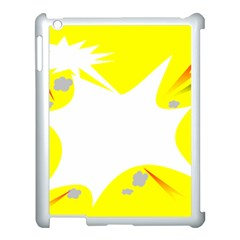 Mail Holyday Vacation Frame Apple Ipad 3/4 Case (white) by Amaryn4rt