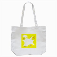 Mail Holyday Vacation Frame Tote Bag (white)