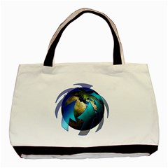 Migration Of The Peoples Escape Basic Tote Bag (two Sides) by Amaryn4rt