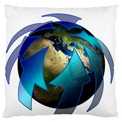 Migration Of The Peoples Escape Large Flano Cushion Case (two Sides)