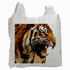 Royal Tiger National Park Recycle Bag (one Side) by Amaryn4rt
