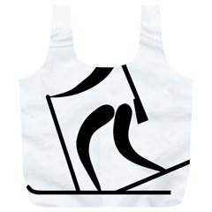 Biathlon Pictogram Full Print Recycle Bags (l)  by abbeyz71