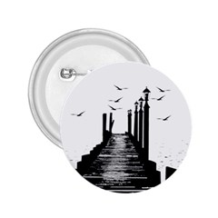 The Pier The Seagulls Sea Graphics 2 25  Buttons by Amaryn4rt
