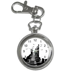 The Pier The Seagulls Sea Graphics Key Chain Watches by Amaryn4rt