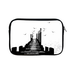The Pier The Seagulls Sea Graphics Apple Ipad Mini Zipper Cases by Amaryn4rt