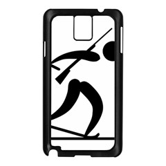 Biathlon Pictogram Samsung Galaxy Note 3 N9005 Case (black) by abbeyz71