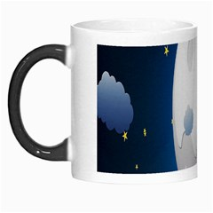 Blue Sky Cloud Star Moon Morph Mugs by Jojostore