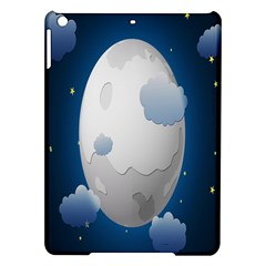 Blue Sky Cloud Star Moon Ipad Air Hardshell Cases by Jojostore