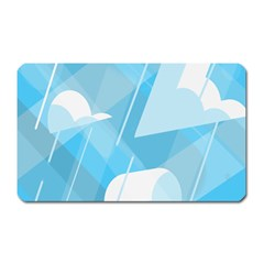 Blue Sky Magnet (rectangular) by Jojostore