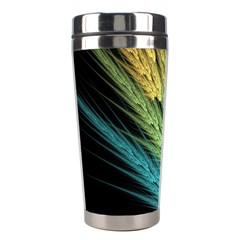 Abstract Fractal Stainless Steel Travel Tumblers by Jojostore