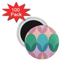 Circle Flower 1 75  Magnets (100 Pack)  by Jojostore
