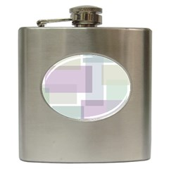 Abstract Background Pattern Design Hip Flask (6 Oz) by Nexatart