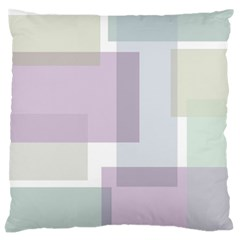 Abstract Background Pattern Design Large Flano Cushion Case (two Sides) by Nexatart