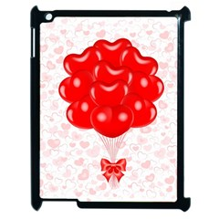 Abstract Background Balloon Apple Ipad 2 Case (black) by Nexatart
