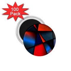 3d And Abstract 1 75  Magnets (100 Pack)