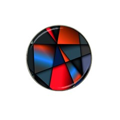 3d And Abstract Hat Clip Ball Marker (4 Pack)