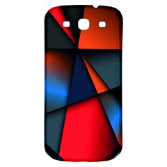 3d And Abstract Samsung Galaxy S3 S Iii Classic Hardshell Back Case