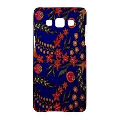 Batik Fabric Samsung Galaxy A5 Hardshell Case  by Jojostore