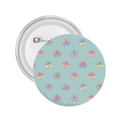Butterfly Pastel Insect Green 2 25  Buttons