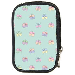 Butterfly Pastel Insect Green Compact Camera Cases