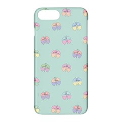 Butterfly Pastel Insect Green Apple Iphone 7 Plus Hardshell Case by Nexatart