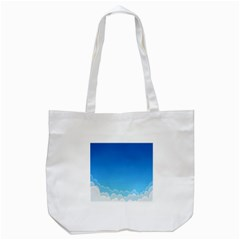 Clouds Illustration Tote Bag (white) by Jojostore