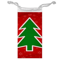 Christmas Tree Jewelry Bag