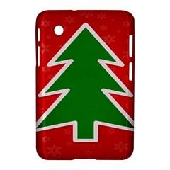 Christmas Tree Samsung Galaxy Tab 2 (7 ) P3100 Hardshell Case