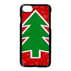 Christmas Tree Apple Iphone 7 Seamless Case (black) by Nexatart