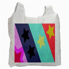 Cool Star Flag Recycle Bag (one Side) by Jojostore