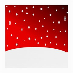 Christmas Background  Medium Glasses Cloth by Nexatart