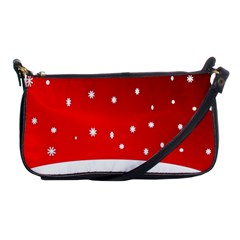 Christmas Background  Shoulder Clutch Bags by Nexatart