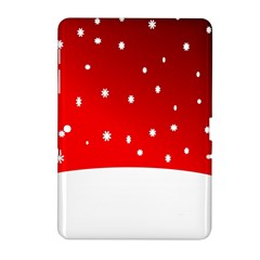 Christmas Background  Samsung Galaxy Tab 2 (10 1 ) P5100 Hardshell Case