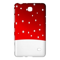 Christmas Background  Samsung Galaxy Tab 4 (8 ) Hardshell Case  by Nexatart