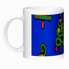 Christmas Trees Night Luminous Mugs