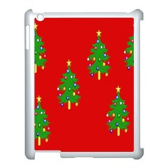 Christmas Trees Apple Ipad 3/4 Case (white) by Nexatart