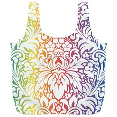 Cool Flower Rainbow Blue Purple Red Orange Yellow Green Full Print Recycle Bags (l)  by Jojostore