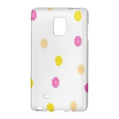 Diamond Pink Yellow Galaxy Note Edge by Jojostore