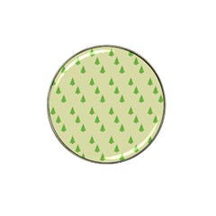Christmas Wrapping Paper Pattern Hat Clip Ball Marker (10 pack)