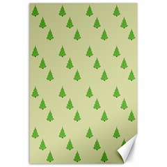 Christmas Wrapping Paper Pattern Canvas 24  X 36